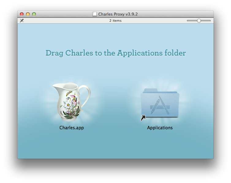 Installing Charles.app on OS X